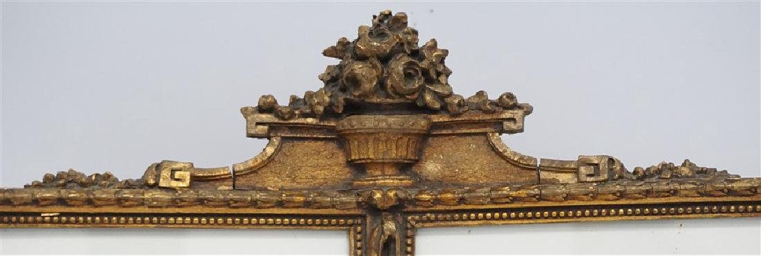 ORNATE ITALIAN GILT WOOD DOUBLE PHOTO FRAME - 2