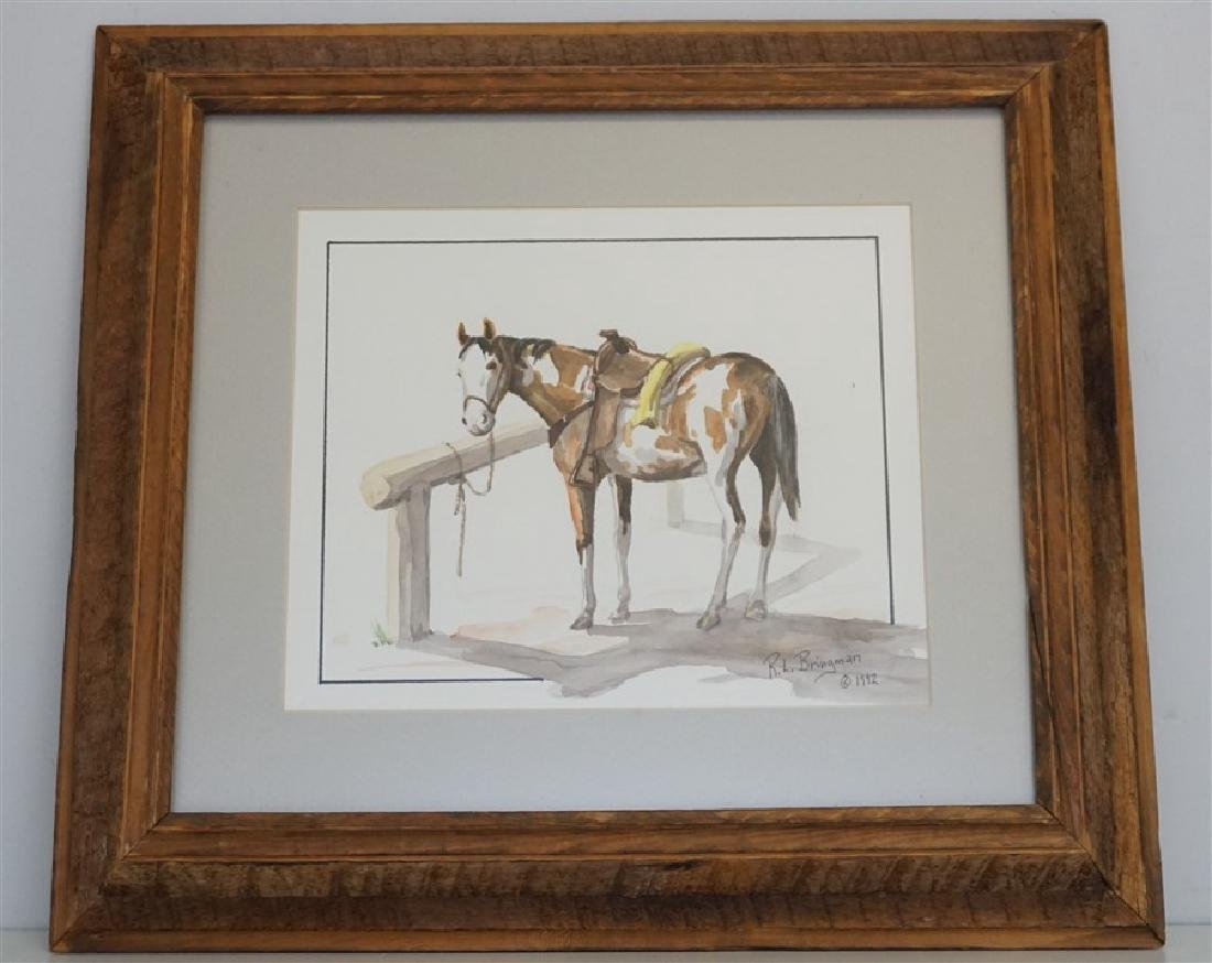 ORIGINAL PINTO WATERCOLOR - BRINGMAN