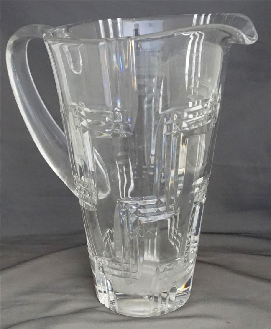 6 MIKASA GLASSES & PITCHER - 2