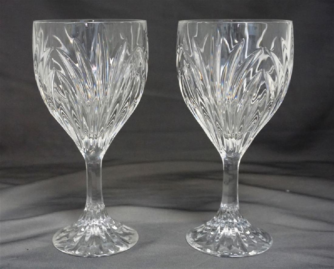 6 MIKASA GLASSES & PITCHER - 3