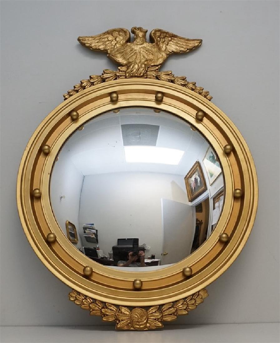 FEDERAL EAGLE BULLS EYE MIRROR 20th c.
