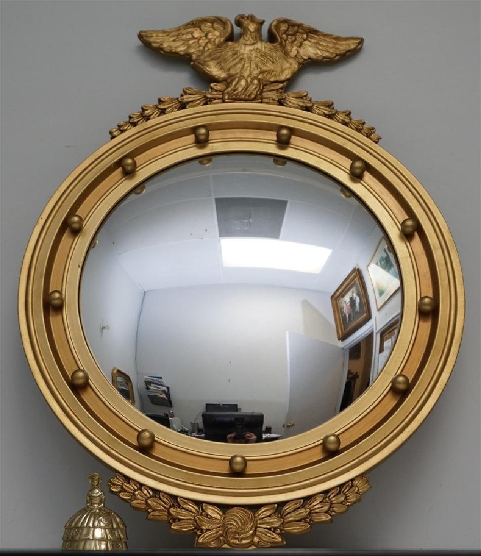 FEDERAL EAGLE BULLS EYE MIRROR 20th c. - 6