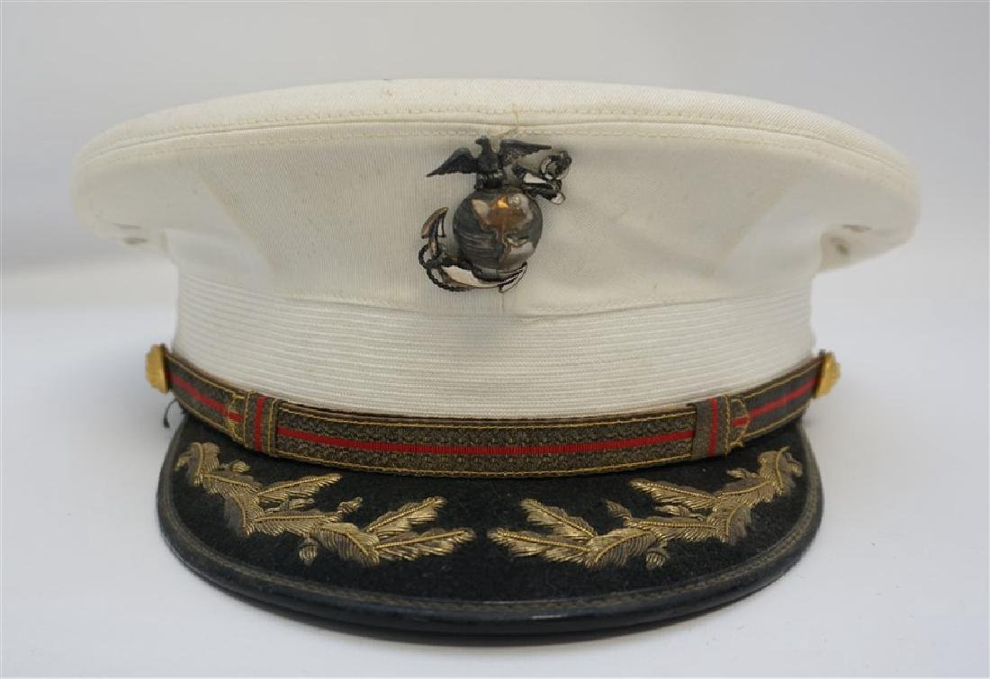 VINTAGE USMC OFFICERS DRESS HAT