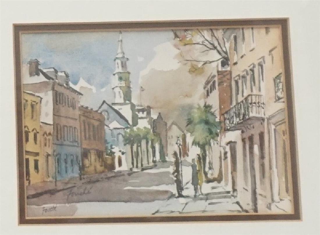2 VIRGINIA FOUCHE BOLTON PRINTS - 2