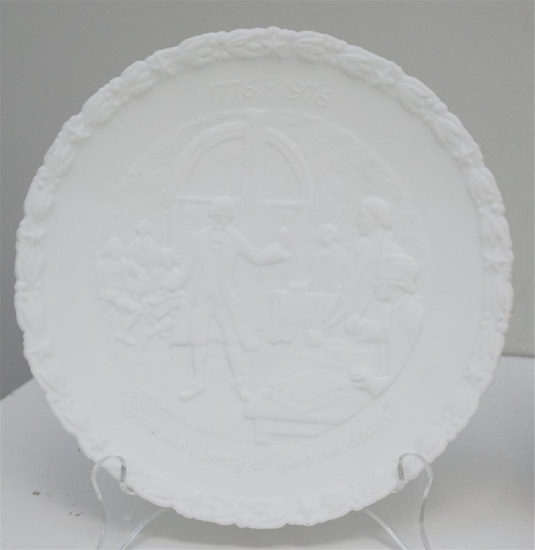 4 FENTON - ENGLISH - SYRACUSE PLATES - 2