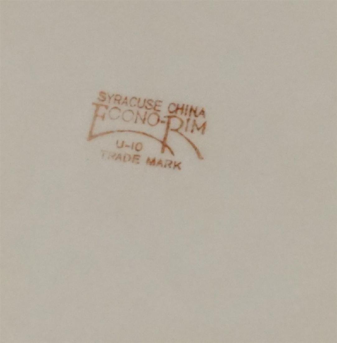 4 FENTON - ENGLISH - SYRACUSE PLATES - 7