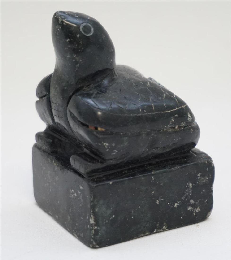 CHINESE HAND CARVED TORTOISE / TURTLE SEAL - 2