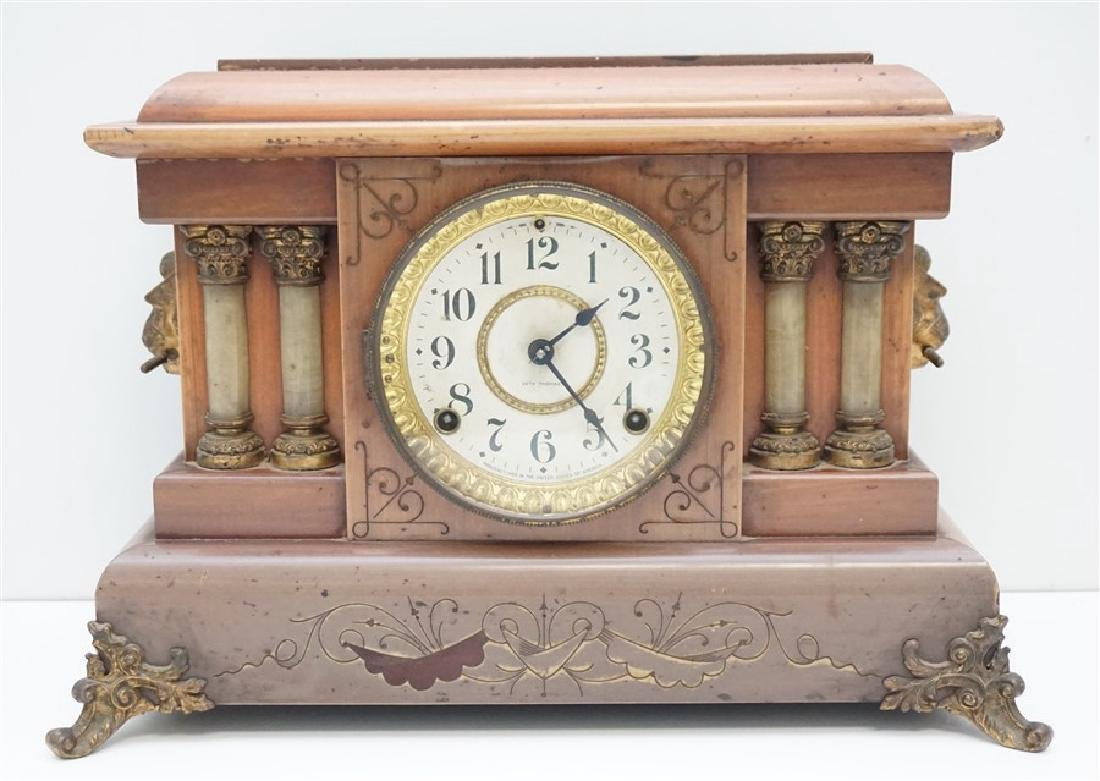 SETH THOMAS ADAMANTINE PETREL MANTLE CLOCK