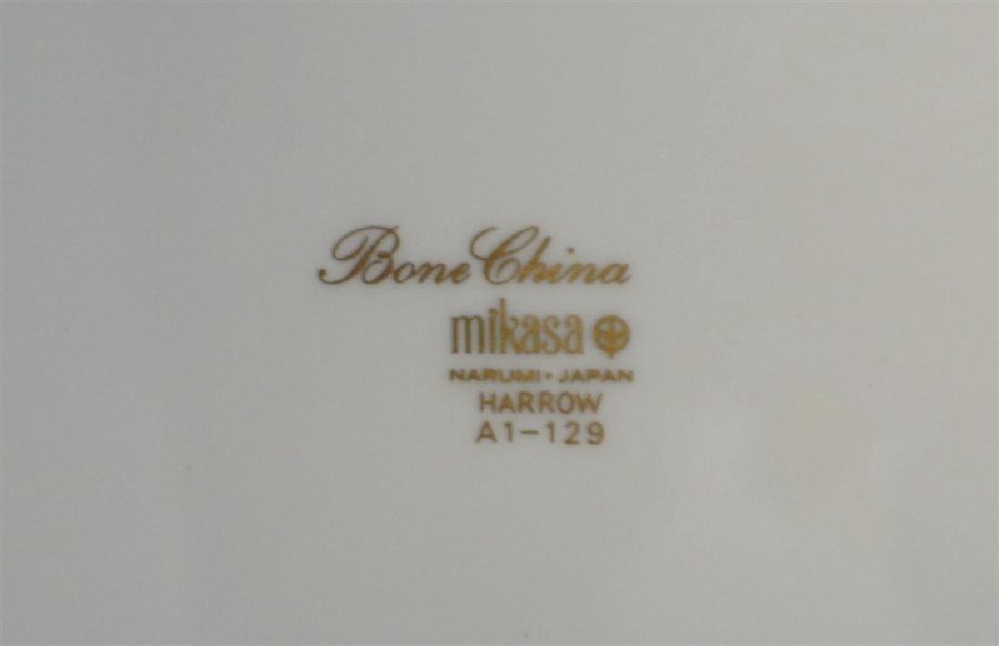 40 pc MIKASA HARROW BONE CHINA DINNER SERVICE - 10