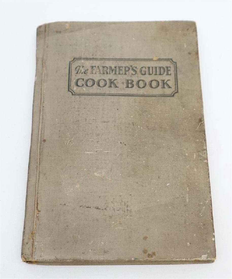 "1927 ""THE FARMERS GUIDE COOKBOOK"""