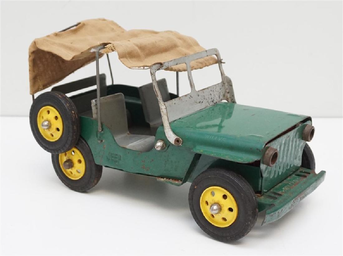 1940-50 MARX PRESSED STEEL JEEP