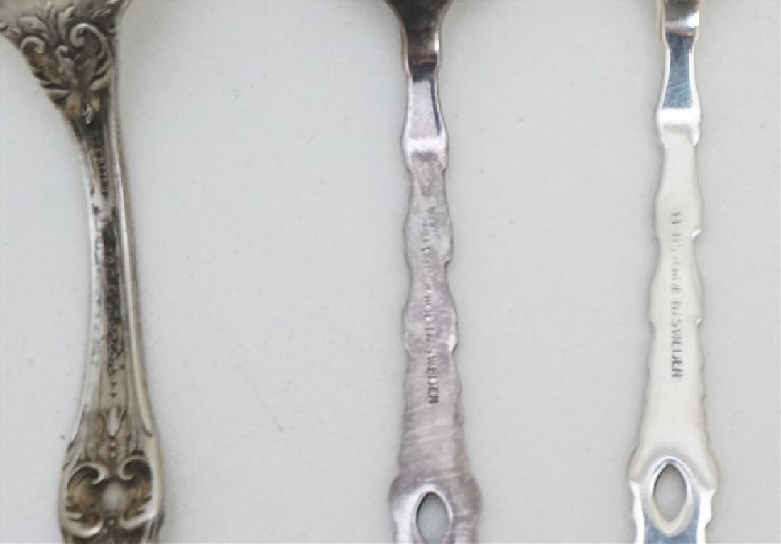 5 SILVERPLATE 1 STERLING SPOON - 4