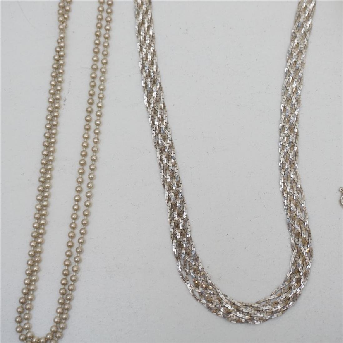 10 PC STERLING SILVER + - 5