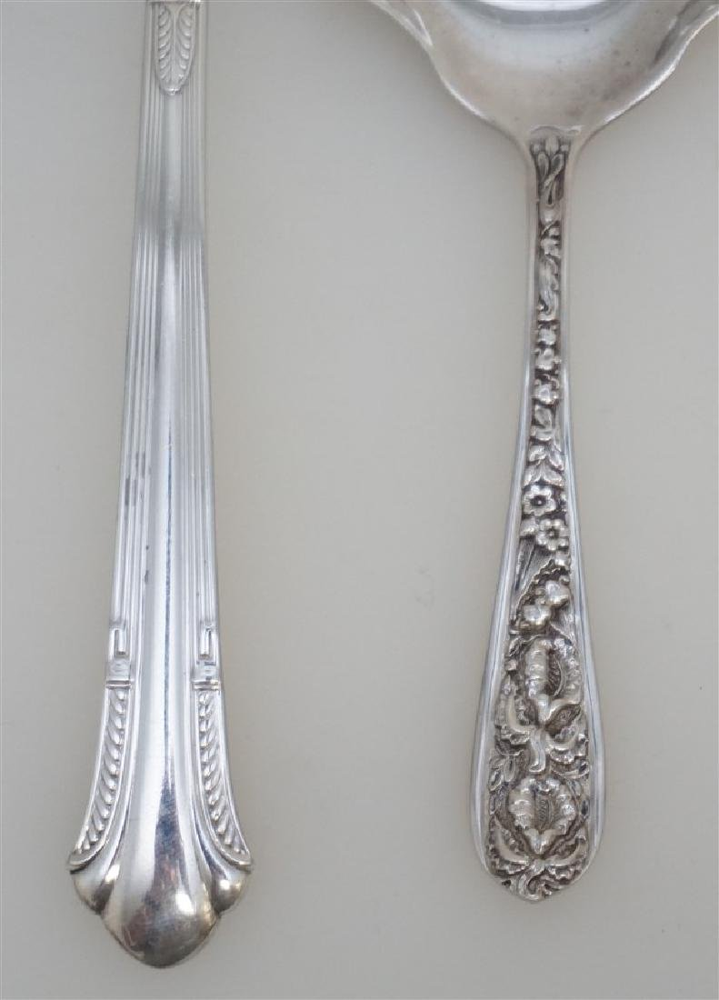 2 AMERICAN STERLING SERVING SPOONS - 2