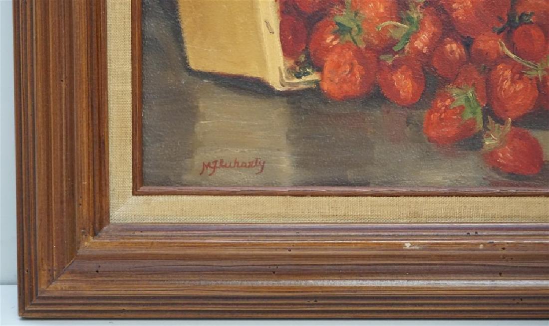 """STRAWBERRY FEAST"" ORIGINAL MILDRED FLUHARTY - 3"