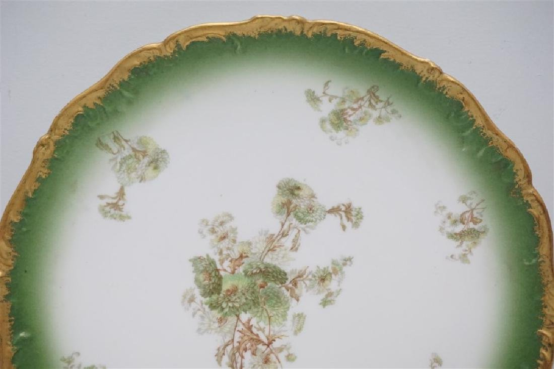 LARGE LIMOGES PUDDING BOWL W UNDERPLATE - 3