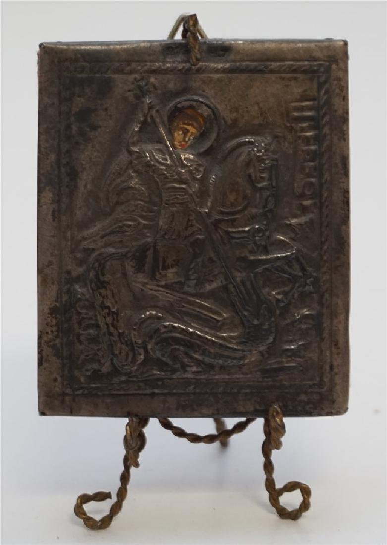 ANTIQUE MINIATURE RUSSIAN ICON