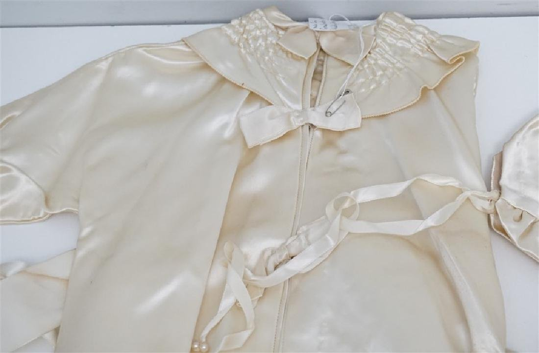 2 ANTIQUE BABY CHRISTENING GOWNS - 2