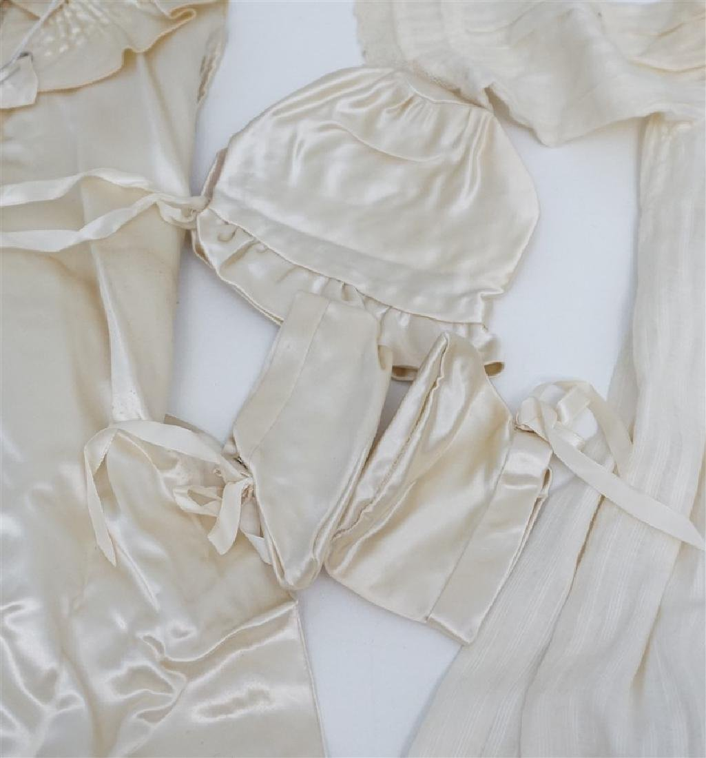 2 ANTIQUE BABY CHRISTENING GOWNS - 4