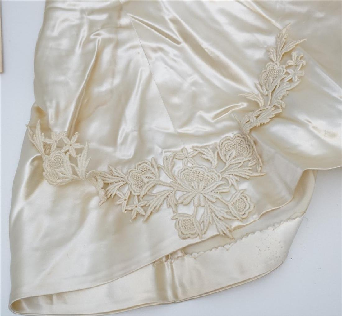 2 ANTIQUE BABY CHRISTENING GOWNS - 8