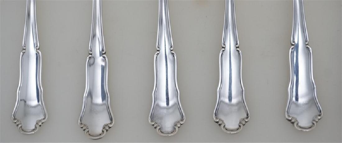 6 BUCCELLATI SAVOY STERLING SPOONS - 2