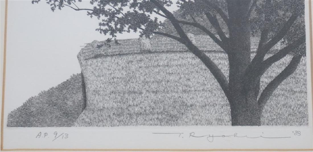 RYOHEI TANAKA ETCHING ARTIST PROOF - 3