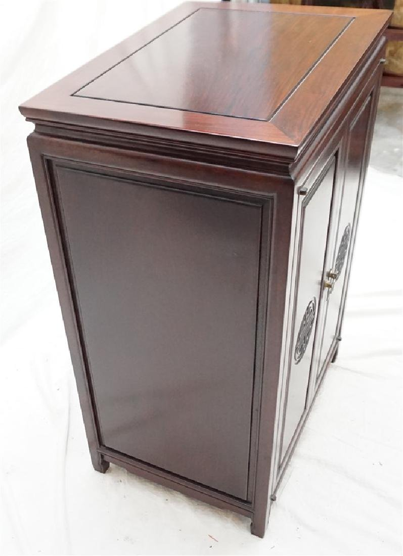 CHINESE ROSEWOOD SILVER CABINET - 8