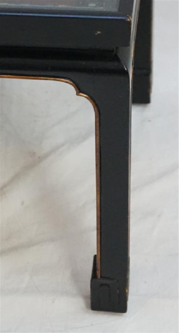 CHINESE INLAID LACQUER KANG TABLE - 5