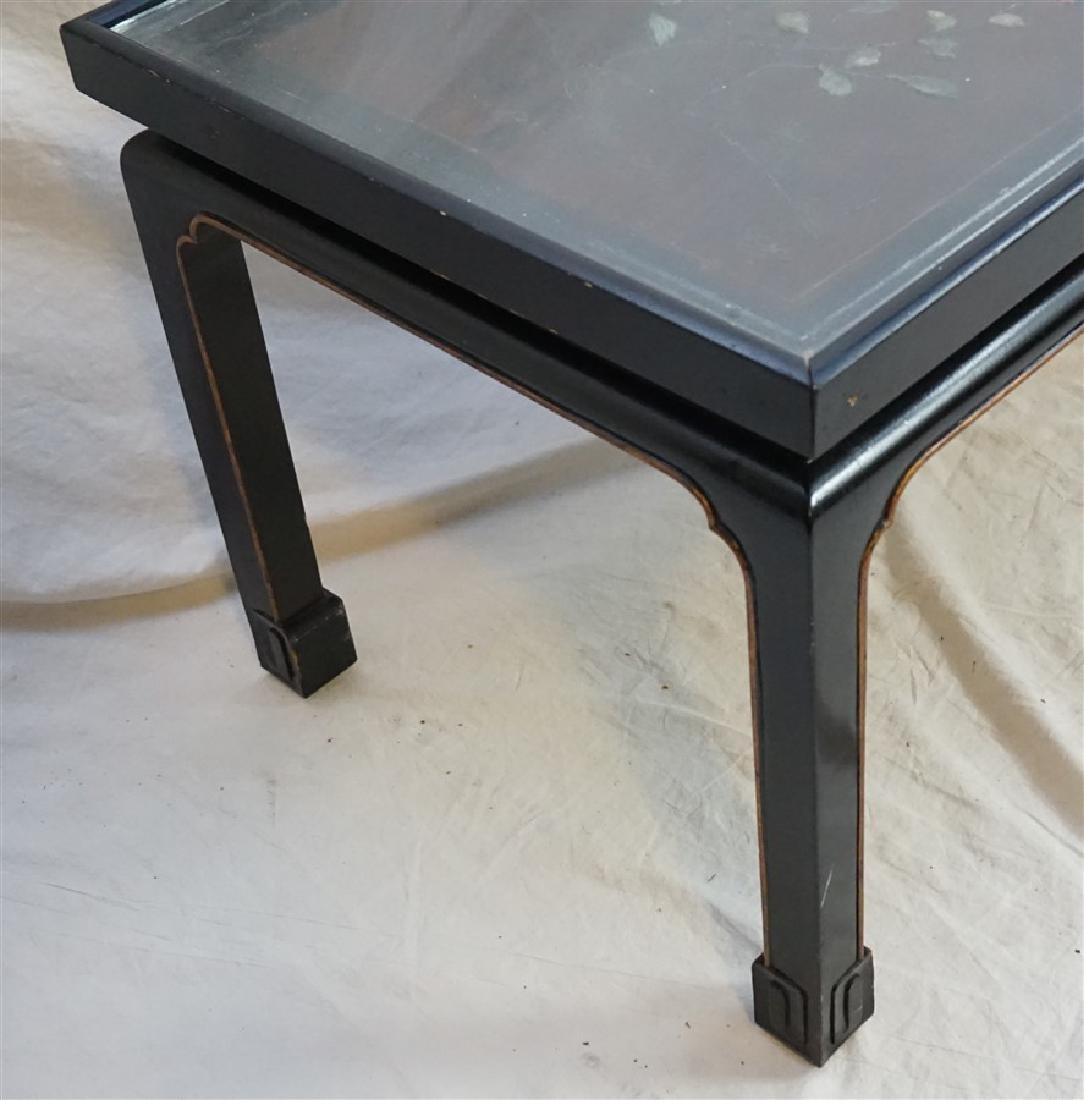 CHINESE INLAID LACQUER KANG TABLE - 6
