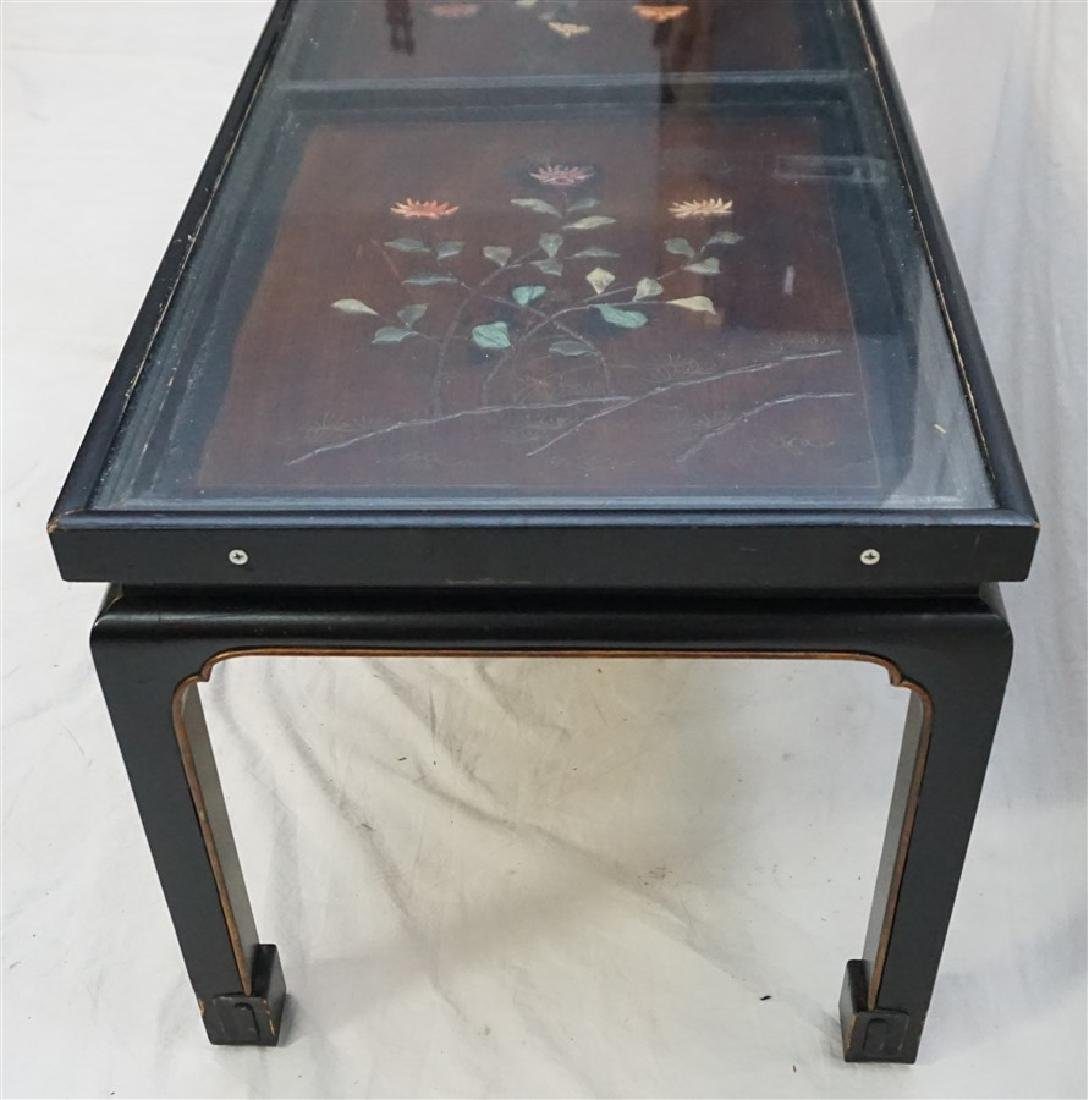 CHINESE INLAID LACQUER KANG TABLE - 7