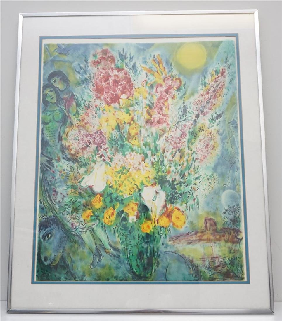 "MARC CHAGALL ""ORIGINAL BOUQUET"""