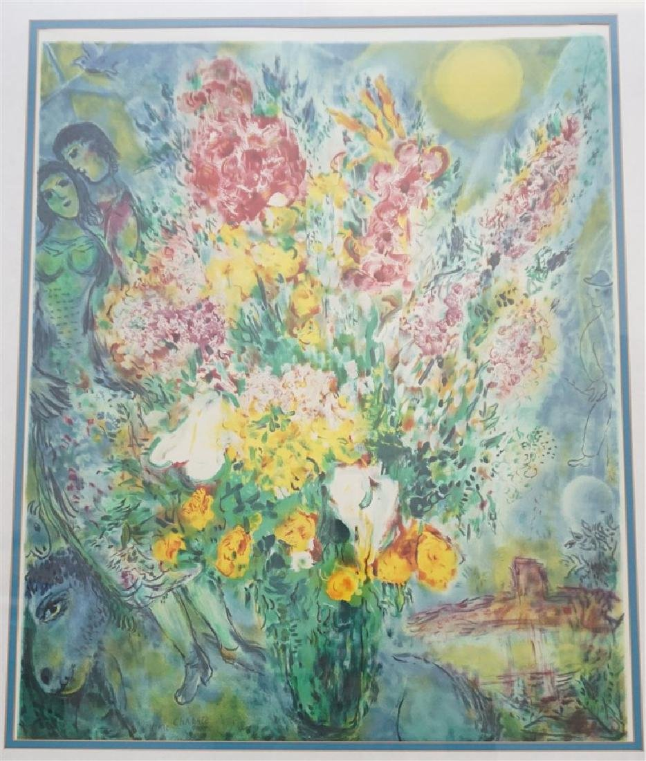 "MARC CHAGALL ""ORIGINAL BOUQUET"" - 2"
