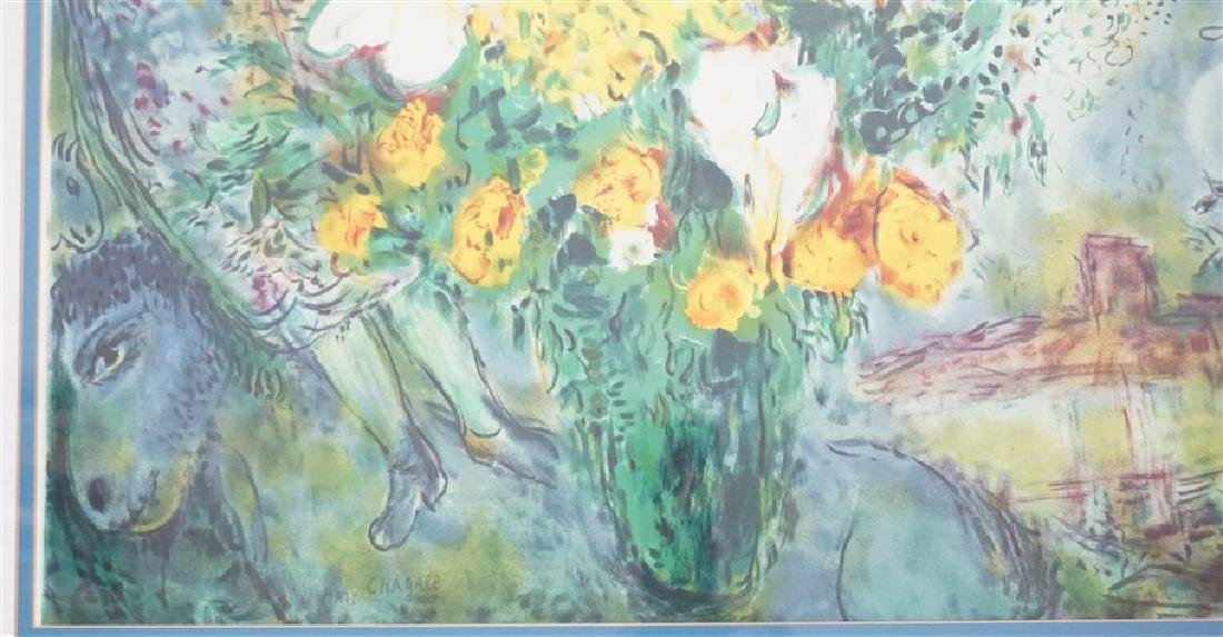 "MARC CHAGALL ""ORIGINAL BOUQUET"" - 3"