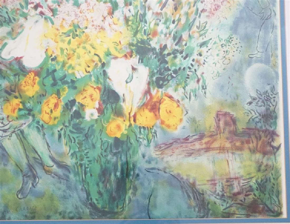 "MARC CHAGALL ""ORIGINAL BOUQUET"" - 4"