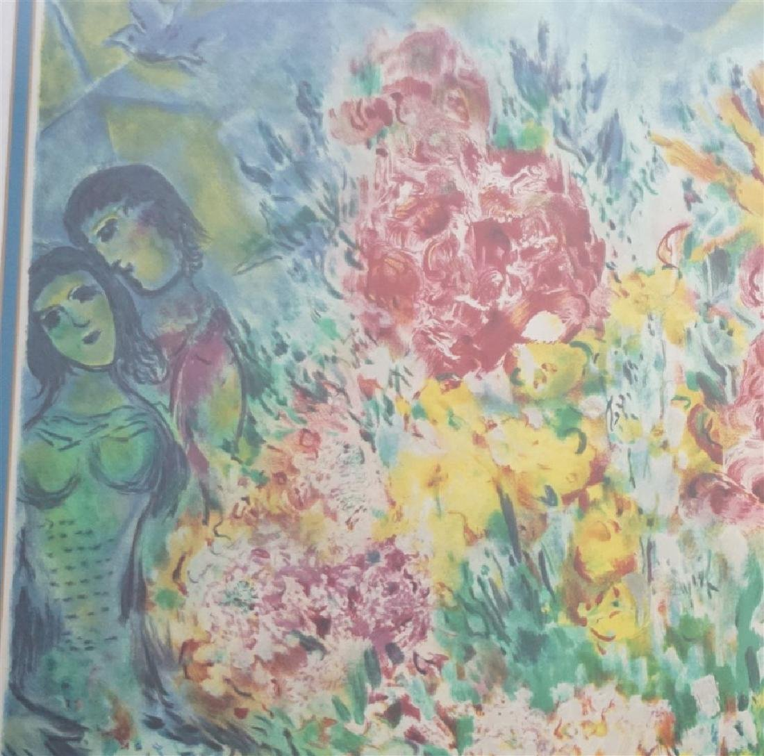 "MARC CHAGALL ""ORIGINAL BOUQUET"" - 5"