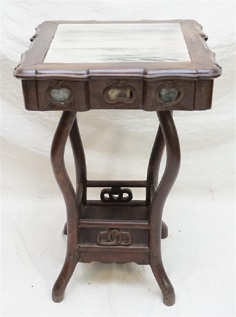 CHINESE INLAID HONGMU STAND
