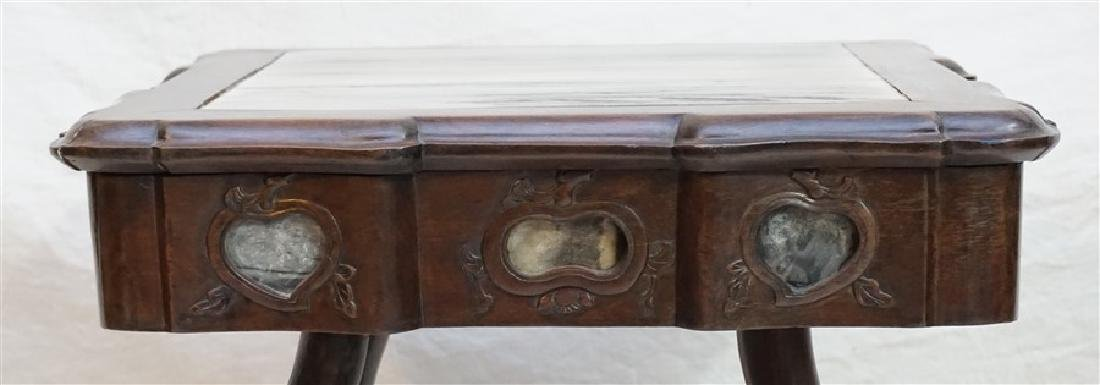 CHINESE INLAID HONGMU STAND - 3
