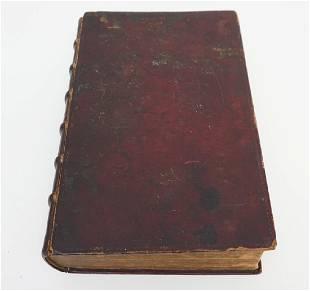 ANTIQUE BIBLIA SACRA MARTIN LUTHER