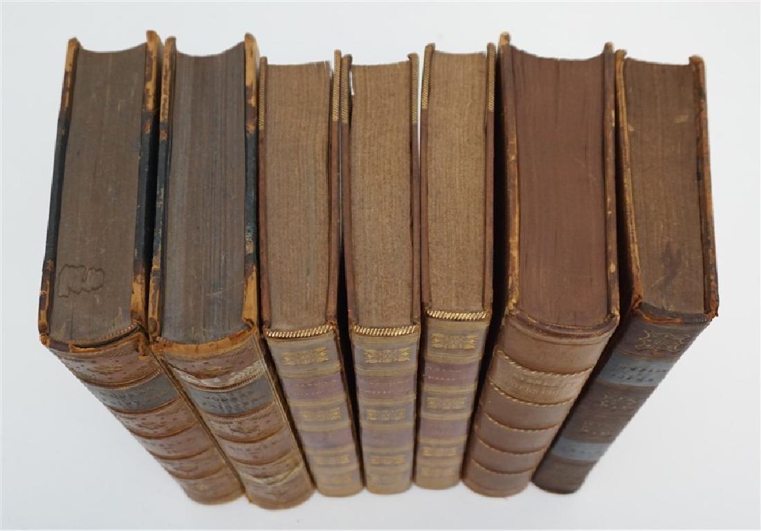 7 ANTIQUE BOOKS - COWPER + - 2