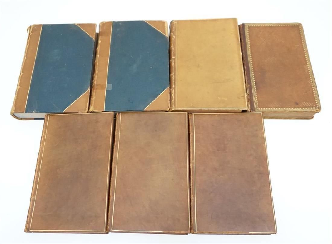 7 ANTIQUE BOOKS - COWPER + - 3