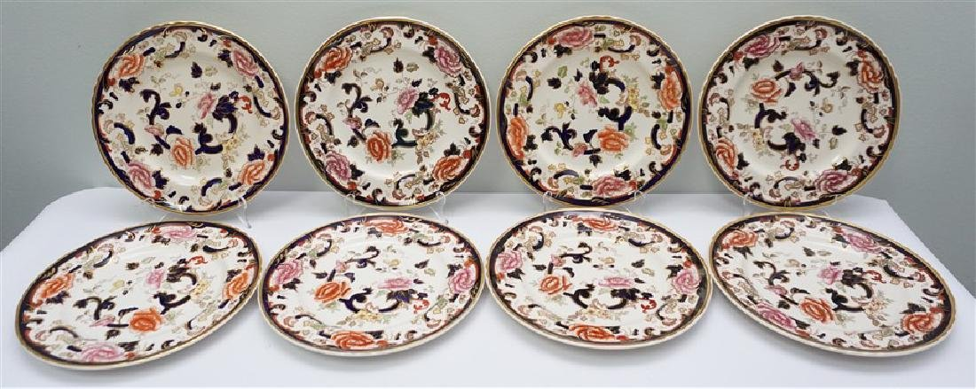 8 MASONS MANDALAY DINNER PLATES