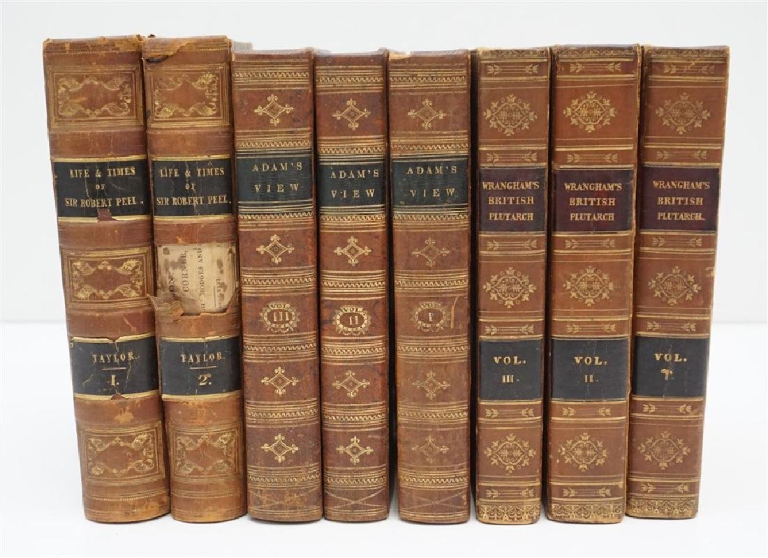 8 ANTIQUE COLLECTIBLE BOOKS