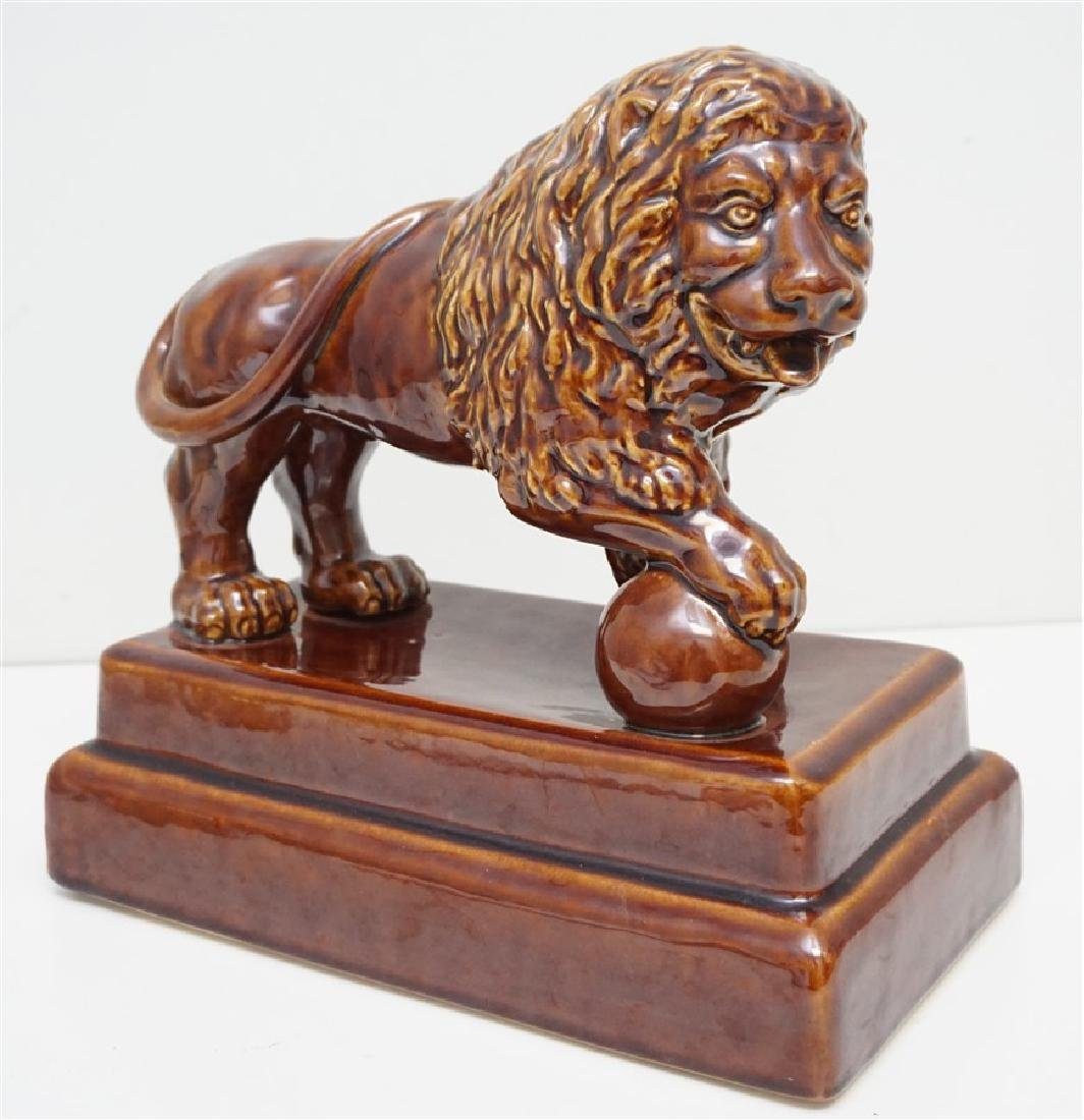 SHIWAN WARE POTTERY LION