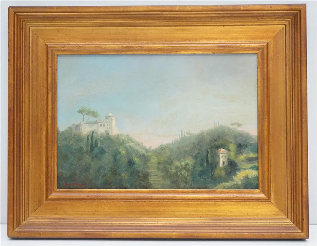 JAN BROUGH PORTOFINO LANDSCAPE OIL