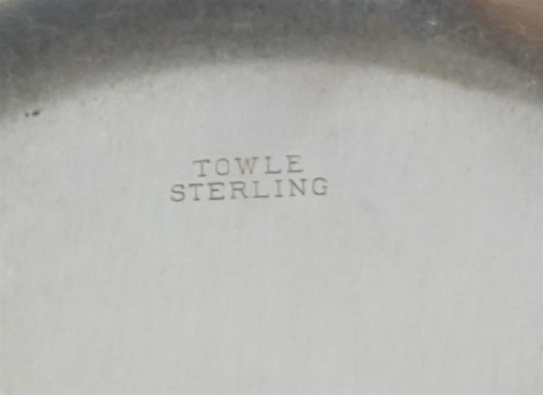 5 PC AMERICAN STERLING BOWL & CORDIALS - 8