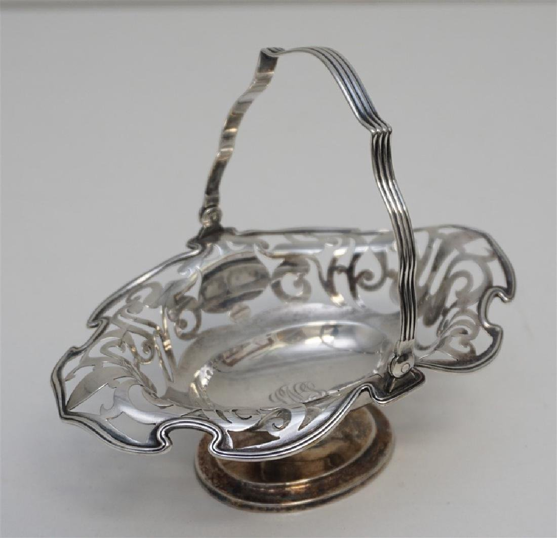 AMERICAN STERLING RETICULATED BASKET