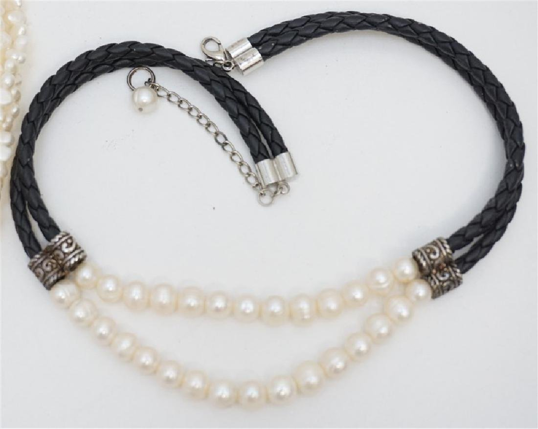 2PC FRESHWATER PEARL JEWELRY - 2
