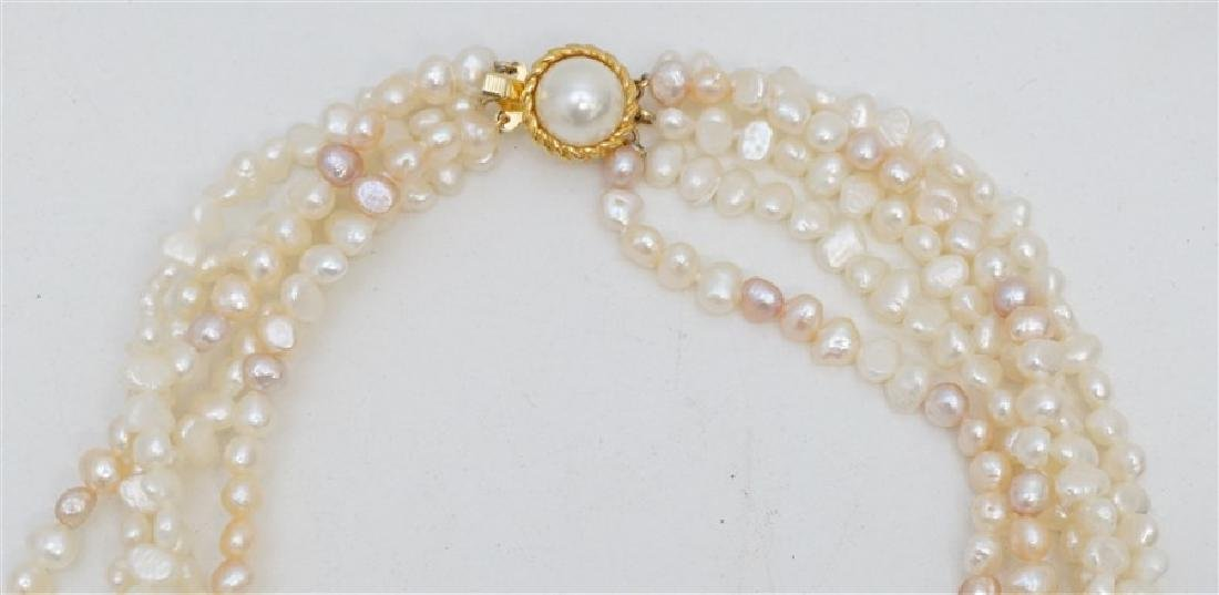 2PC FRESHWATER PEARL JEWELRY - 3