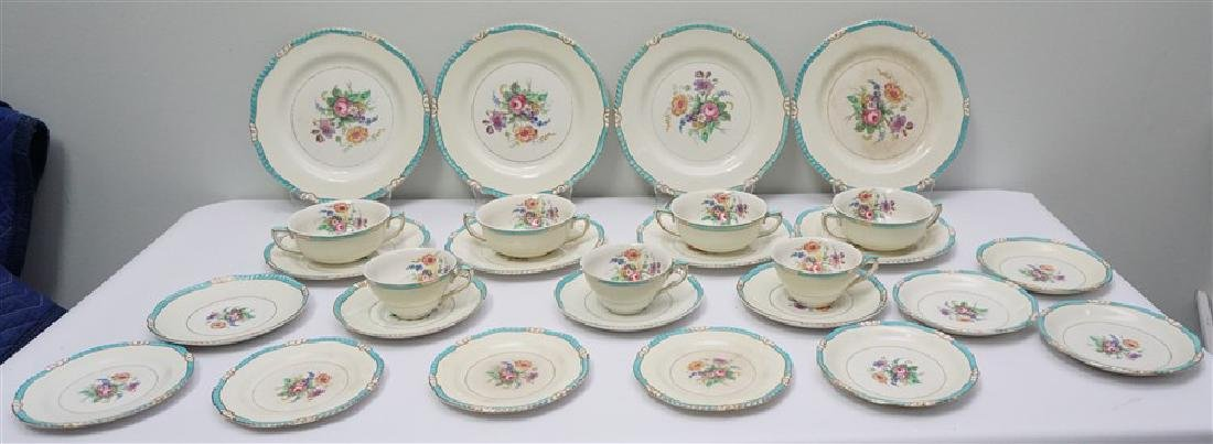 27 PC ENGLISH RIDGWAYS ROSLYN CHINA