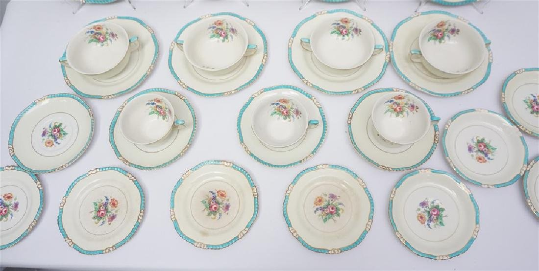 27 PC ENGLISH RIDGWAYS ROSLYN CHINA - 3